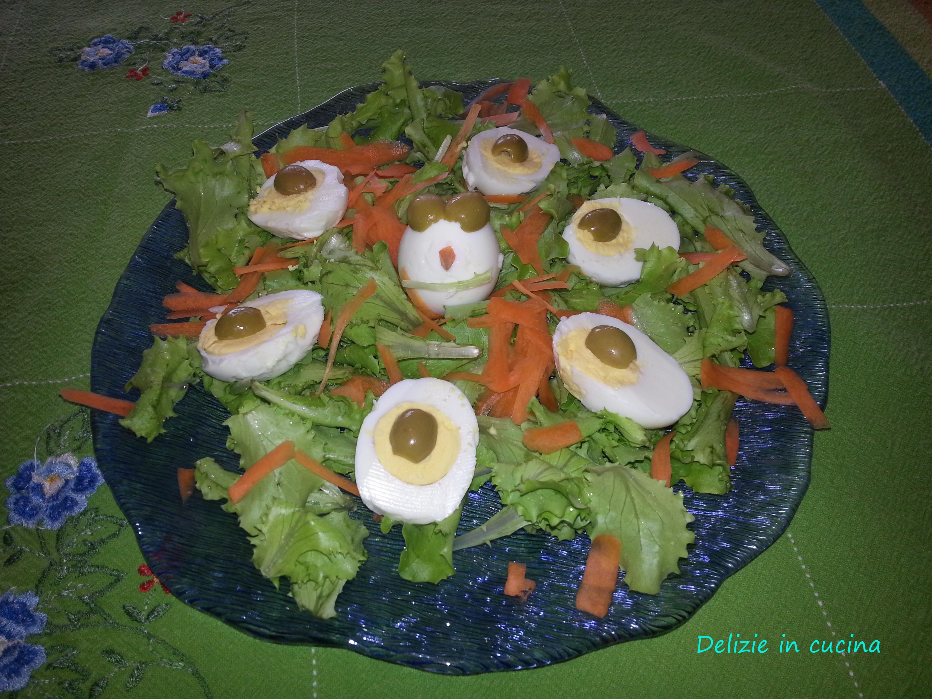 Uova sode divertenti delizie in cucina for Cucinare uova sode